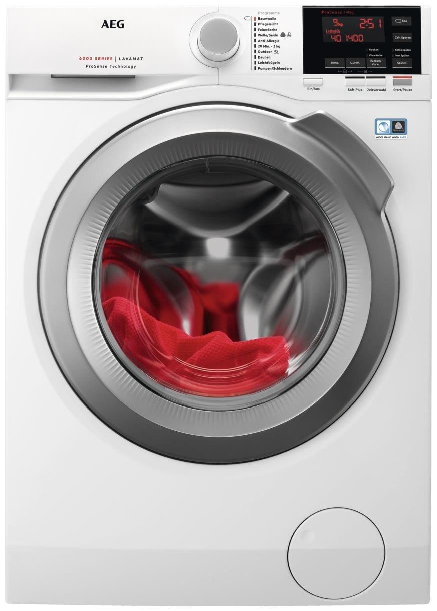 aeg lavamat l6fb67490 waschmaschine waschmaschinen. Black Bedroom Furniture Sets. Home Design Ideas