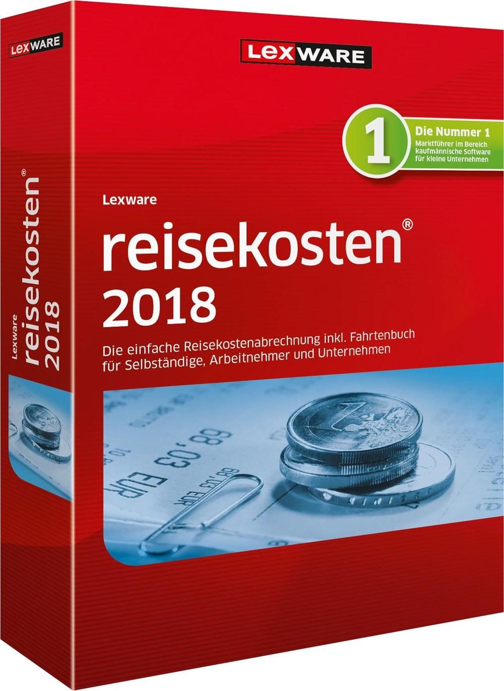 Lexware reisekosten 2018 Jahresversion (365-Tage) Minibox jetztbilligerkaufen