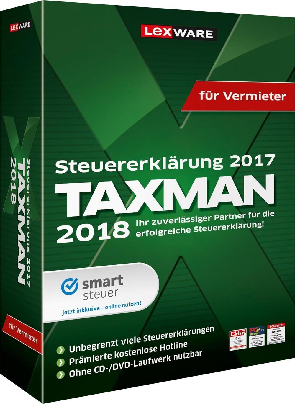 Lexware Taxman 2018 für Vermieter - Preisvergleich