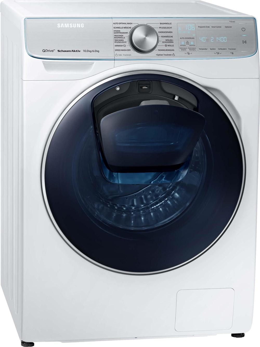 Samsung WD10N84INOA/EG Waschtrockner mit QuickDrive 10+6kg (EEK: A)