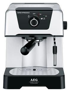 AEG EA 110 Easypresso Espresso Maschine Silber/schwarz