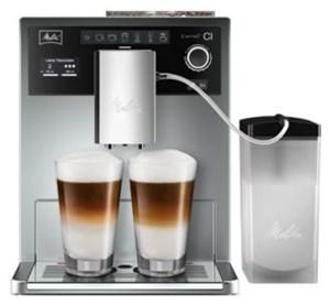melitta caffeo ci kaffeevollautomat silber bean to cup. Black Bedroom Furniture Sets. Home Design Ideas
