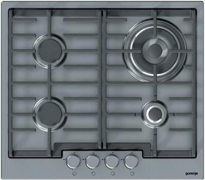Gorenje gw6n41ix gas kochfeld b 58 cm wok brenner for Gaskochfeld testsieger
