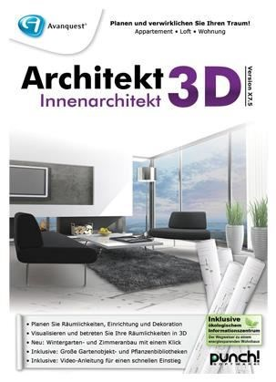 Avanquest architekt 3d x7 5 innenarchitekt pc win de for Innenarchitekt werden