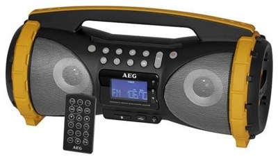 aeg msr 4367 bt stereoradio mit bluetooth usb schwarz. Black Bedroom Furniture Sets. Home Design Ideas
