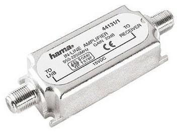 HAMA 20 dB SAT-Inline-Verstärker - broschei