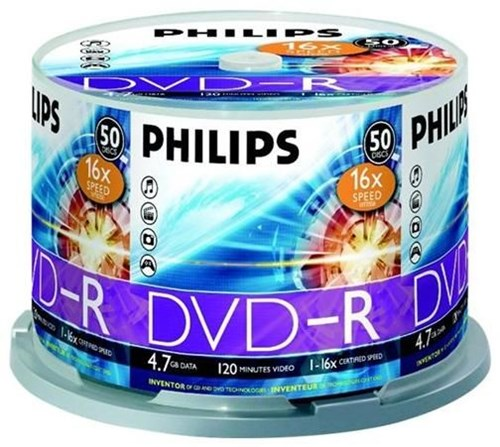 Philips DVD-R 4.7GB 16X - Preisvergleich