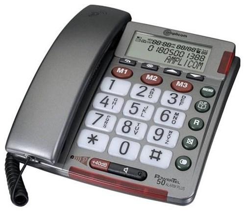 Audioline amplicom Powertel 50 Alarm