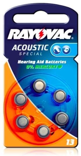 Varta 13 Acoustic Spezial Knopfzelle