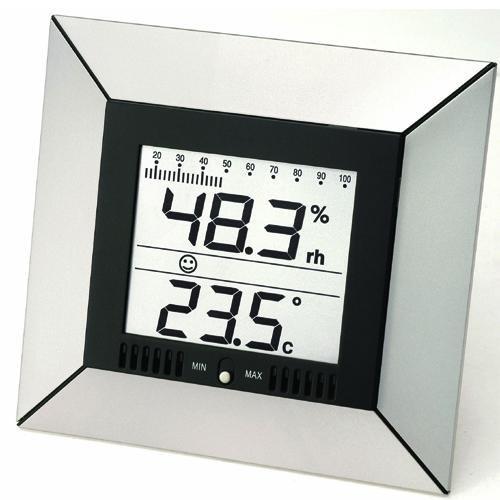 Proficell WS9410 Elektronische Wetterstation silber - Preisvergleich