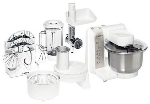 Bosch MUM4880 Küchenmaschine weiss/silber - Kitchen Appliances ...
