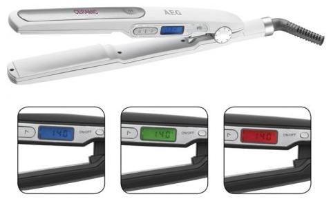 AEG HC 5585 Haarglätter weiss