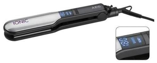 AEG HC 5593 Haarglätter schwarz/silber