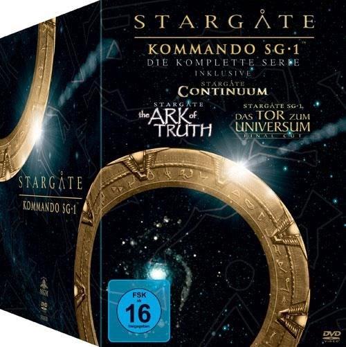 Stargate Kommando SG1 - Complete Box