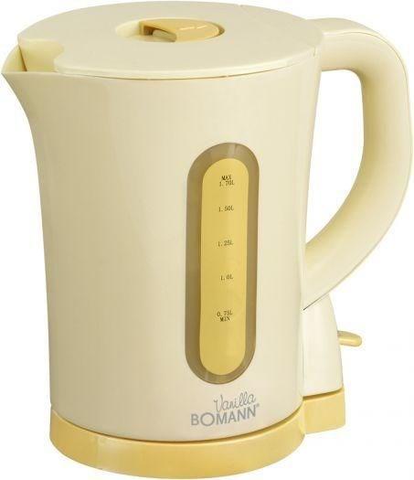 Bomann WK1542CB Wasserkocher vanilla