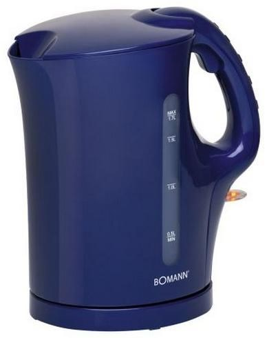 Bomann WK5011CB Wasserkocher blau
