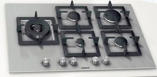 Siemens EC875SB21D Gas-Kochstelle edelstahl