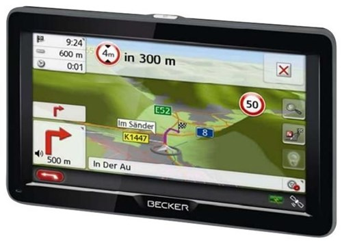 Becker transit 70 lmu personal navigation devices for Becker payment plan