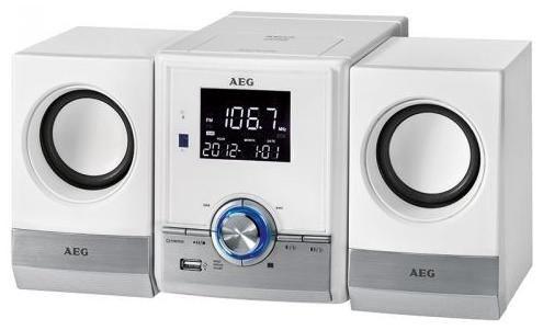 AEG MC 4461 BT weiß