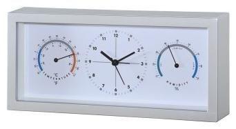 Hama Thermo-/Hygrometer TH33-A silber - Preisvergleich