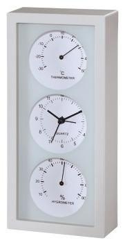 Hama Thermo-/Hygrometer TH35-A weiß - Preisvergleich