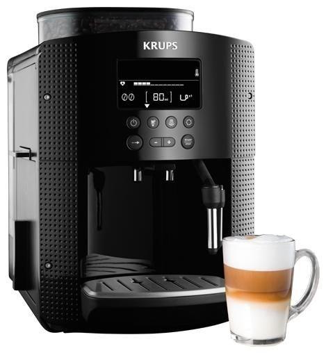 krups ea 8150 espresso kaffee vollautomat schwarz bean. Black Bedroom Furniture Sets. Home Design Ideas