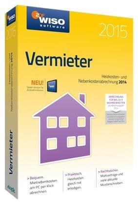 WISO vermieter 2015 (PC Win) DE (Download)