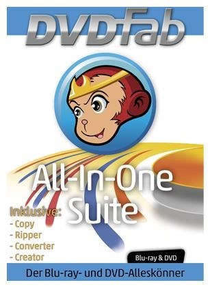 DVDfab All in One Suite (PC Win) DE (Download)