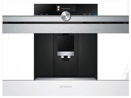 siemens ct636lew1 einbau kaffeevollautomat wei bean to cup coffee machines computeruniverse. Black Bedroom Furniture Sets. Home Design Ideas