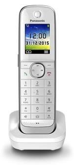 Panasonic KX-TGJA30EXW Mobilteil/Ladeschale weiß (Telefon)