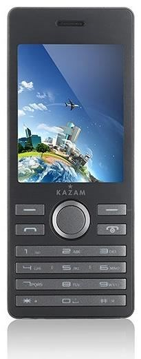 Kazam Life B6 128 MB Barren Handy ohne Vertrag/SIMlock, schwarz (Handy)