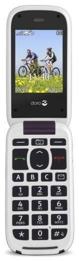 Doro PhoneEasy 613 aubergine / weiß - Preisvergleich