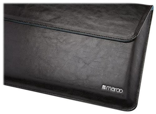 Maroo Executive Ledertasche / Sleeve für Microsoft Surface Pro 3 / 4 schwarz - Preisvergleich