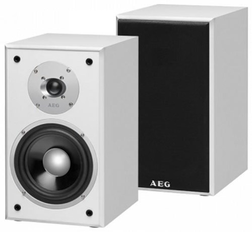 aeg lb 4720 2 wege regal lautsprecher boxen paar wei speakers hifi computeruniverse. Black Bedroom Furniture Sets. Home Design Ideas