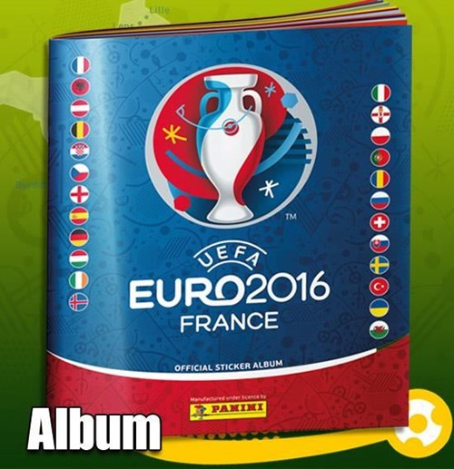 UEFA EURO 2016 Sticker Album
