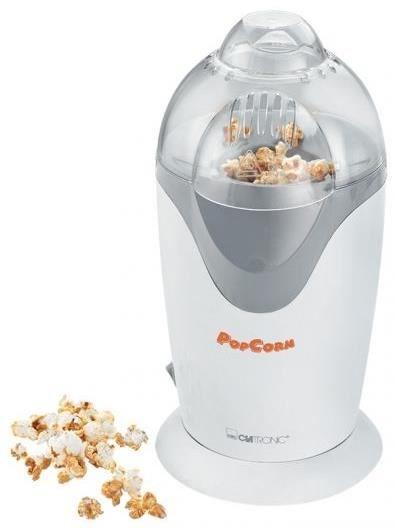 Clatronic PM 3635 Heißluft-Popcorn-Maker weiß/ grau