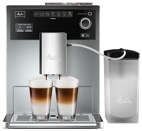 melitta caffeo ci kaffeevollautomat e 970 306 silber. Black Bedroom Furniture Sets. Home Design Ideas