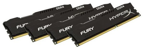 kingston hyperx fury black 32gb ddr4 hx424c15fb2k4 32. Black Bedroom Furniture Sets. Home Design Ideas