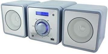 Soundmaster MCD 350 Mini-Stereo Anlage UKW/MW/CD/USB blau/grau
