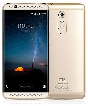 ZTE Axon 7 mini - Android Smartphone Dual-SIM 4G LTE 32GB microSDXC slot GSM 5.2 1,920 x 1,080 Pixel AMOLED 16 MP (8 front camera) Gold (40-28-8060) - broschei