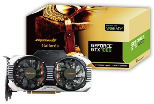 manli geforce gtx1060 gallardo 6gb gddr5 pci express. Black Bedroom Furniture Sets. Home Design Ideas