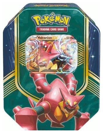 Pokémon Cards Tin Box#62 Volcanion