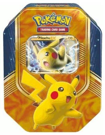 Pokémon Cards Tin Box#63 Pikachu