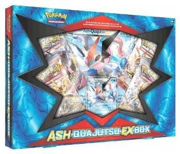 Pokémon Cards Ash-Quajutsu-Ex