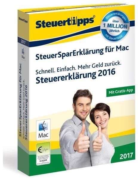 Akademische Arbeitsgemeinschaft SteuerSparErklärung MAC 2017 (für Steuerjahr 2016) - CD-ROM - broschei