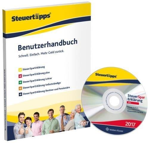 Akademische Arbeitsgemeinschaft SteuerSparErklärung Plus 2017 (FFP) (für Steuerjahr 2016) Windows - CD-ROM - broschei