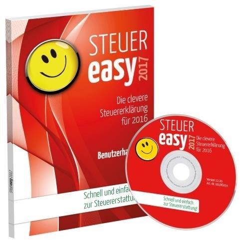 Akademische ArbeiSteuergemeinschaft Easy 2017 (für Steuerjahr 2016) (FFP) Windows - CD-ROM - broschei