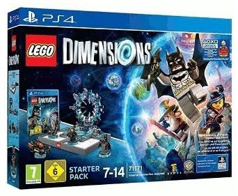 LEGO Dimensions - Starter Pack inkl. Supergirl Figur Limited Edition (PS4)