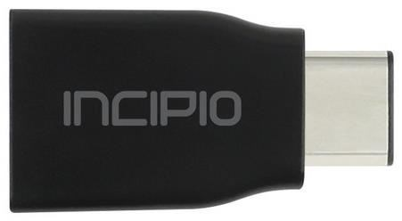 Incipio Charge/Sync USB-C auf USB-A Adapter schwarz