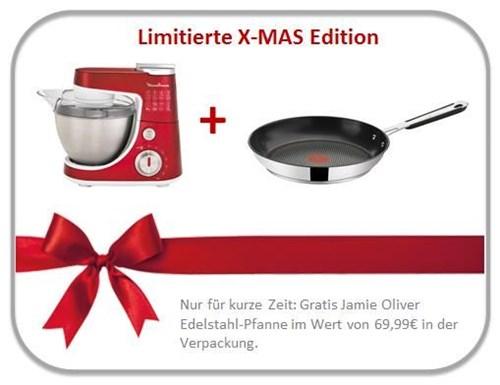 Moulinex QA404G.XMAS Küchenmaschine Masterchef Gourmet PLUS ...